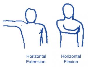 Horizontal flex extend