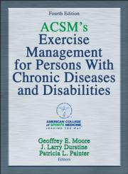 HK ACSM Exercise Management for Persons with Chronic Diseases and Disabilities